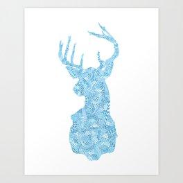 Hello, Deer Art Print