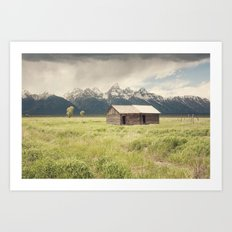 Summer in the Tetons Art Print