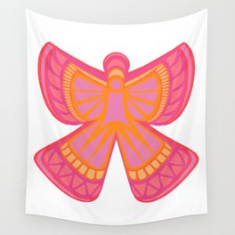 Snow Angel Wall Tapestry