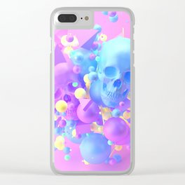 Side B Clear iPhone Case