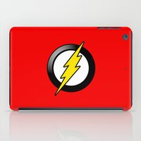 the flash iPad Cases featuring Flash by Oblivion Creative