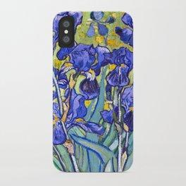 Vincent Van Gogh Irises iPhone Case
