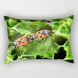 Pyramidal love Rectangular Pillow