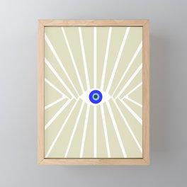 Evil Eye Framed Mini Art Print
