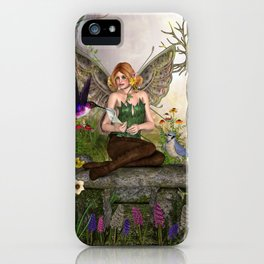Awakening Spring iPhone Case