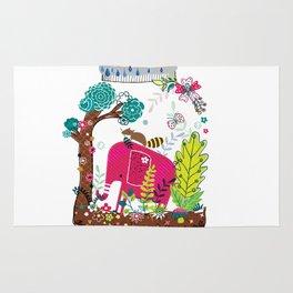 Elephant in the Jar Rug
