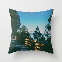 South Lake Tahoe, CA  Throw Pillow