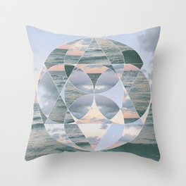 Me, You and The Sea Throw Pillow
