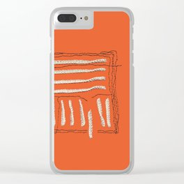 Yarns - Out of the box Clear iPhone Case