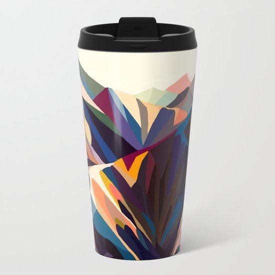 Mountains original Metal Travel Mug