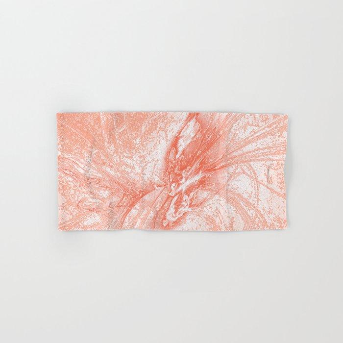 Splatter in Guava Hand & Bath Towel