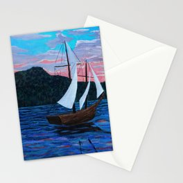 Into the West Stationery Cards
