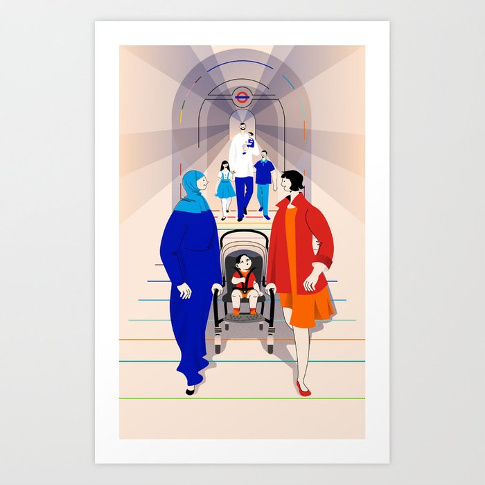 Supermother Art Print