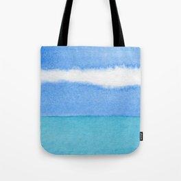 Stripe Cloud Tote Bag
