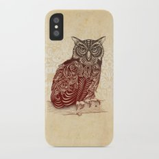 Most Ornate Owl Slim Case iPhone X