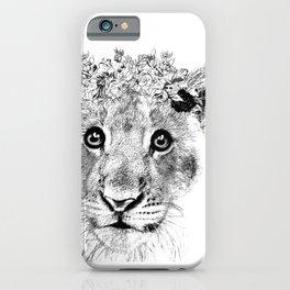 Lion Artwork iPhone Case