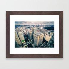 Tokyo Skyline Framed Art Print