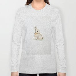 Easter bunny watercolor Long Sleeve T-shirt