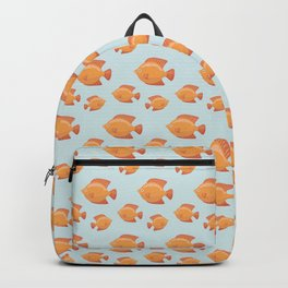 Colorful fish pattern Backpack