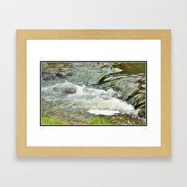 Stream, Hunua Falls, NZ Framed Art Print