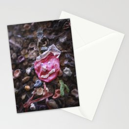 Mouth full of gum Bubblegum Alley Stationery Cards