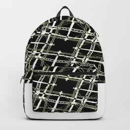 High Tech Grid Backpack