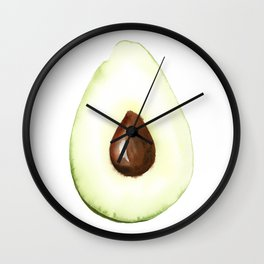 Avocado Wall Clock