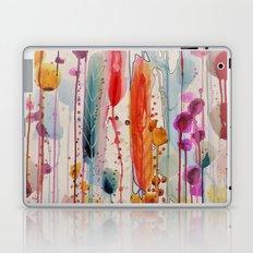 champs fleuris Laptop & iPad Skin