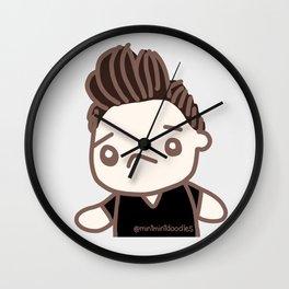 Floofy Hair Wall Clock
