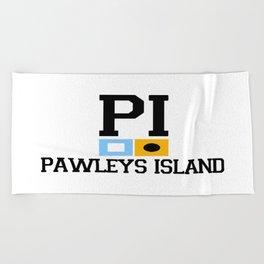 Pawleys Island - South Carolina. Beach Towel
