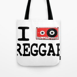 I listen Reggae Tote Bag