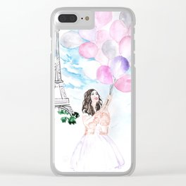 Balloons Clear iPhone Case