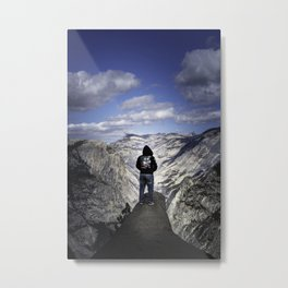 Looking to the future Metal Print