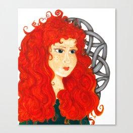 Brave Lass Canvas Print