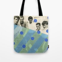 boys Tote Bags featuring Boys by Naomi Vona