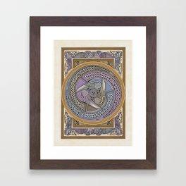Triple Raven Framed Art Print