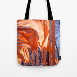 Gates Blowing In The Wind No. 1 Tote Bag