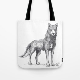 The Lone She-Wolf Tote Bag