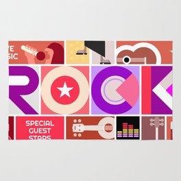 Rock Music Rug