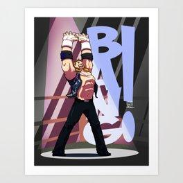 Diamond Dallas Page - Bang! Art Print