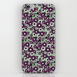 Floral-005 iPhone Skin