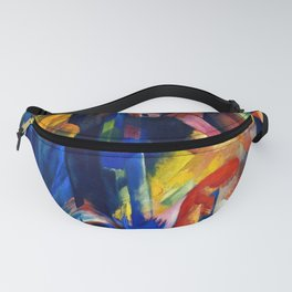 """Franz Marc """"Forest with squirrel"""" Fanny Pack"""