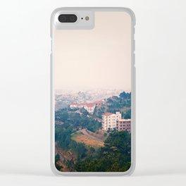 DALAT IN THE FOG Clear iPhone Case