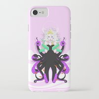ursula iPhone & iPod Cases featuring Ursula by Sergio Saucedo
