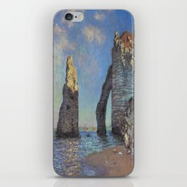 Claude Monet's The Cliffs at Etretat iPhone Skin