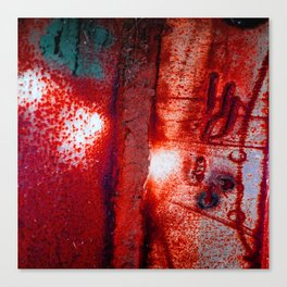 Rust in Red Canvas Print