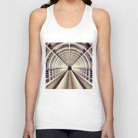 bridge Tank Tops featuring Bridge by BarWy