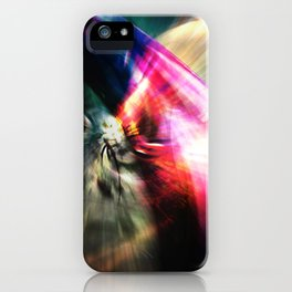 Journey Through Space iPhone Case