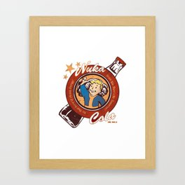 Nuka Cola Framed Art Print