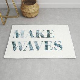 make waves Rug